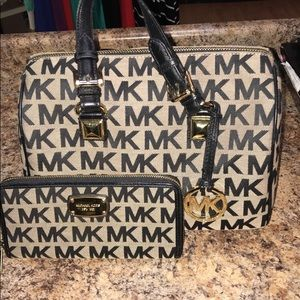Michael Kors Satchel and Wallet
